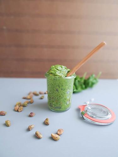 Spinach Pistachio Pesto