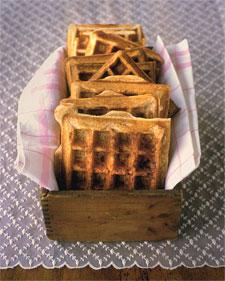 Cinnamon Sugar Waffles