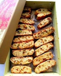 Fig & Pistachio Biscotti