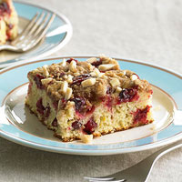 Overnight Cranberry Coffee Cake