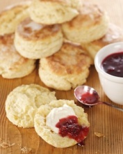 Mummy's Sweet White Scones