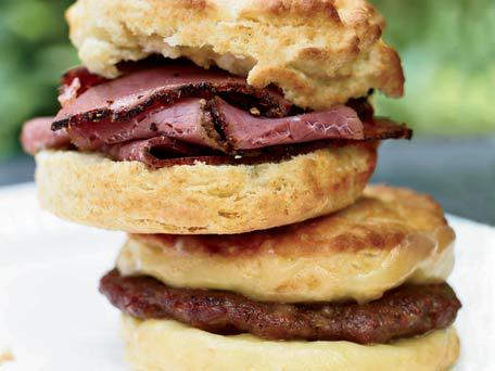Oversize Breakfast Biscuits