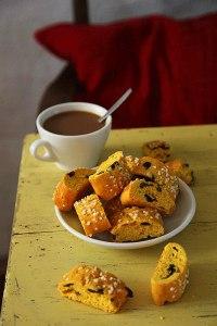 Saffron Biscotti