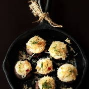 Savory Cheesy Stuffed Mushrooms