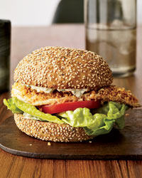 Crispy Fish Sandwiches with Herb Remoulade