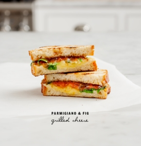 Parmigiano & Fig Grilled Cheese