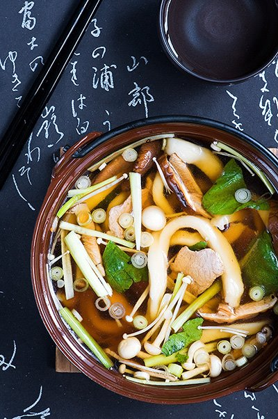 Udon Noodle Soup