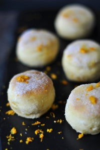 Mandarin Orange & Olive Oil Mini Doughnuts