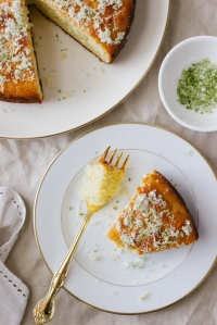 Lime, Yoghurt and Olive Oil Cake