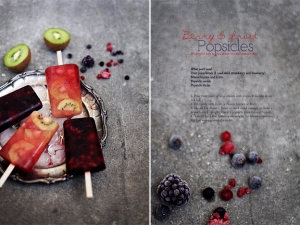 Berry & Fruit Popsicles