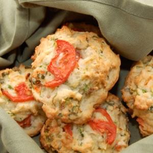 Garden Zucchini Parmesan Biscuits