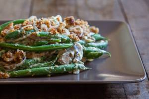 Green Bean Casserole (Warning: I looked at the receipe and even though I may talk smack about all those food-free dishes I've been an Adventist long enough to know that in this case it probably works.)