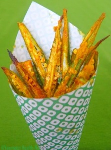 Ladies Fingers (Okra) Fries