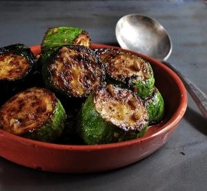 Lemon-Garlic Zucchini