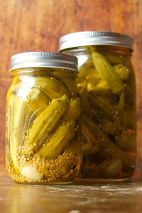 Spicy Okra Pickles